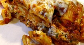 Cheesy Baked Pasta and a Sneak Peek!