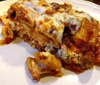 cheesy baked pasta
