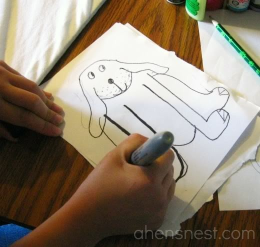 drawing a t-shirt design