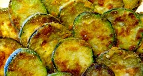 Fried Zucchini Slices