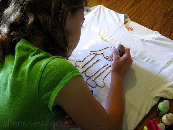 kids craft project