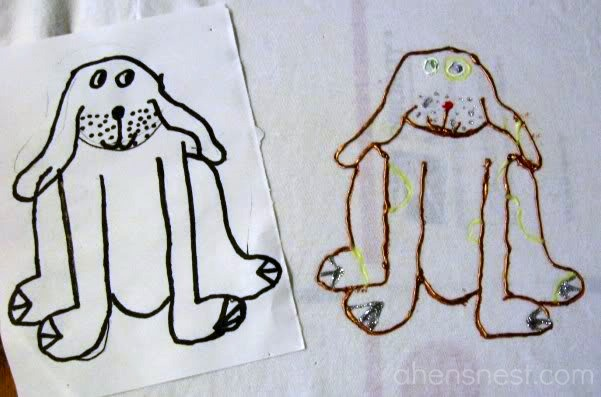 puffy paint tutorial for kids