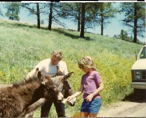 OldPic Dad Donkey