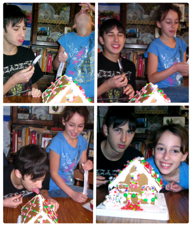 2009 gingerbread house