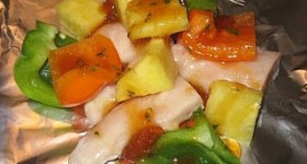 Summer Grill Recipes: Pineapple Chicken Packets
