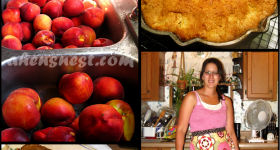 Preserving Peaches and a Peach Muffin Recipe
