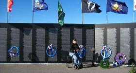 Wordless Wednesday – The Wall: American Veterans Traveling Tribute
