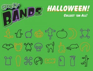 new Halloween Googly Bands shapes