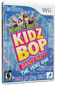 kidz bop dance party! the video game