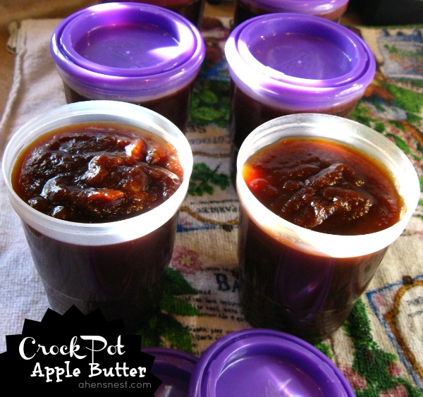 Make delicious Apple Butter in your Crock Pot #recipe