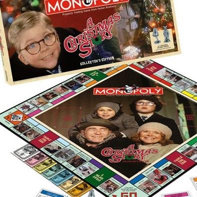USAopoly A Christmas Story Monopoly Game