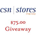 win a $75.00 shopping spree from CSNStores.com