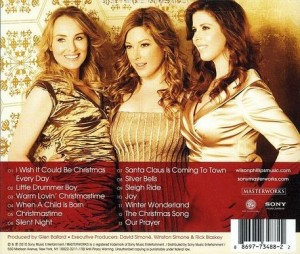 wilson phillips christmas in harmony back cover