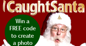 Make the Holidays magical with iCaughtSanta.com
