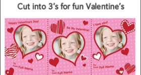 Free personalized Valentines from Vistaprint!