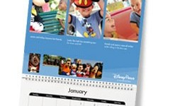 Free 12 month Disney Calendar + win a vacation