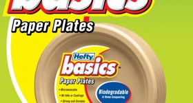 New Hefty Basics disposable tableware
