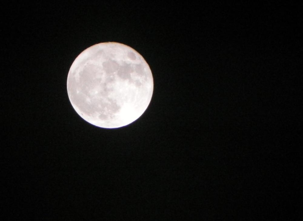 Full Moon March 2011