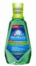 crest pro health rinse