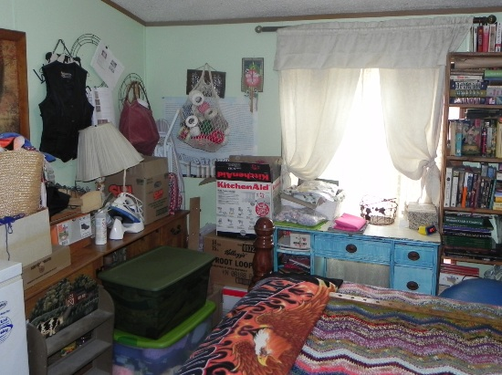 Before- my messy bedrooom