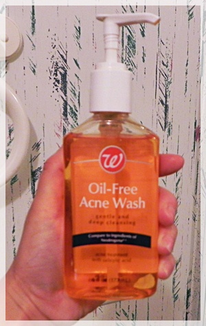 Walgreens Oil-Free Acne Wash