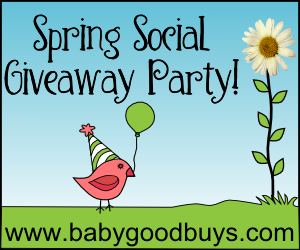 BabyGoodBuys.com Spring Social Button