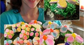 Happy Easter Spring Cupcakes!