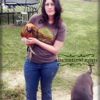 Me and My Rooster Mr. Puff 2011