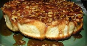 walnut sticky buns