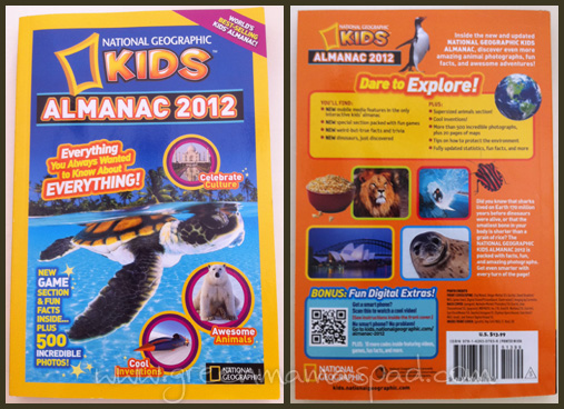 national geographic kids almanac 2012 cover