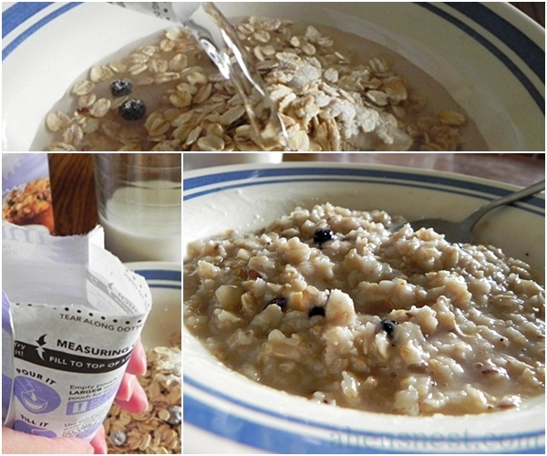 BetterOats Blueberry Muffin Instant Oatmeal