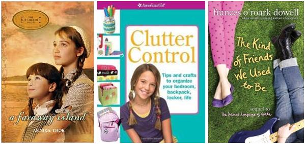 books my tween daughter reads