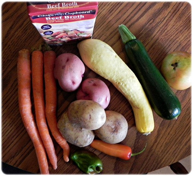 veggies to make stew
