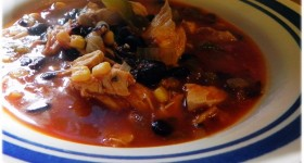 Chicken Tortilla Soup – easy dinner recipe