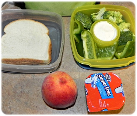 lunch packed