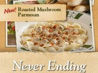 Never Ending Pasta Bowl at Olive Garden