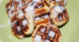 Waffled CinnamonRollls