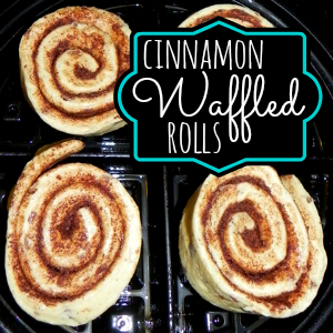 how to make cinnamon rolls in a waffle iron @ahensnest