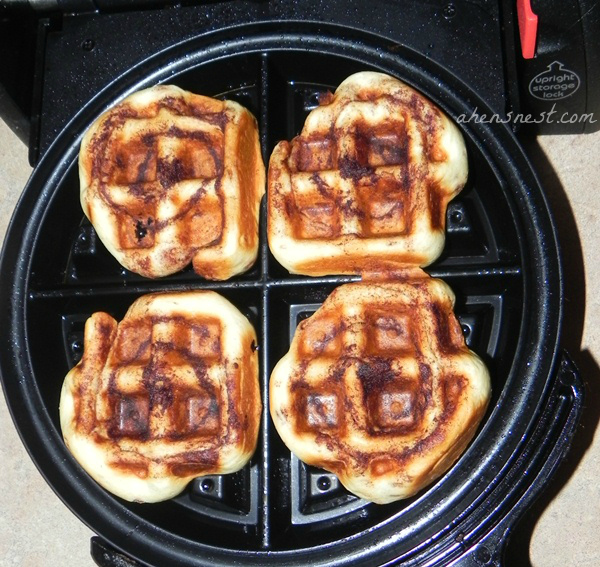 How To Make Cinnamon Rolls In A Waffle Iron Recipe A Hen S Nest