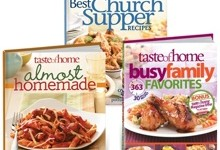 HUGE Taste of Home $5 book sale + 7% cash back $ free shipping* w/ code!