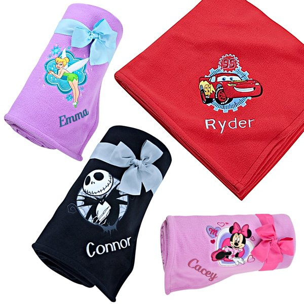 disney personalized blankets