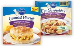 pillsbury frozen breakfast