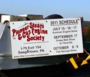 A visit to The Pioneer Gas & Steam Engine Society