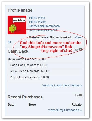 ShopAtHome.com Account