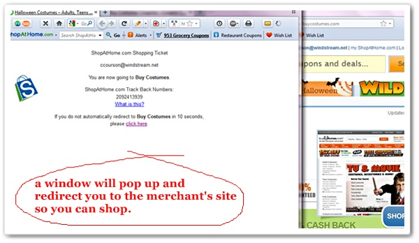 ShopAtHome.com shop window