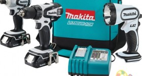 Makita 18-Volt Lithium-Ion Cordless 3-Piece Combo Kit: #GiftIdea for the man in your life