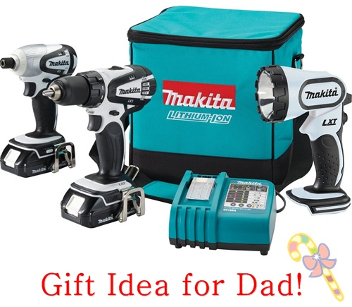 Makita Lithiom-Ion cordless drill gift idea dads