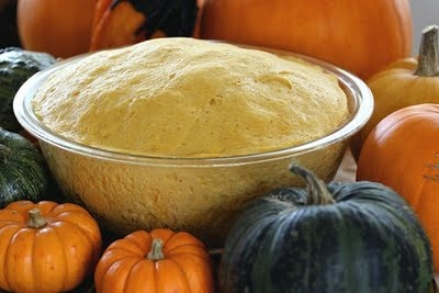 Pumpkin Pizza Dough