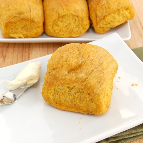 Spiced Pumpkin Rolls