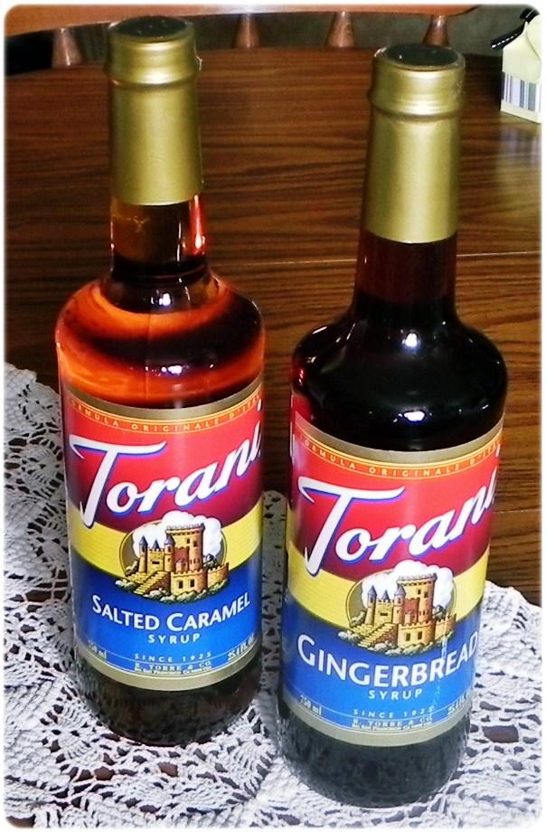 Torani flavored syrup